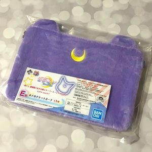 BNIP Sailor Moon Luna Pouch Clutch